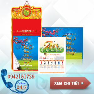Lịch 52 tuần 2019